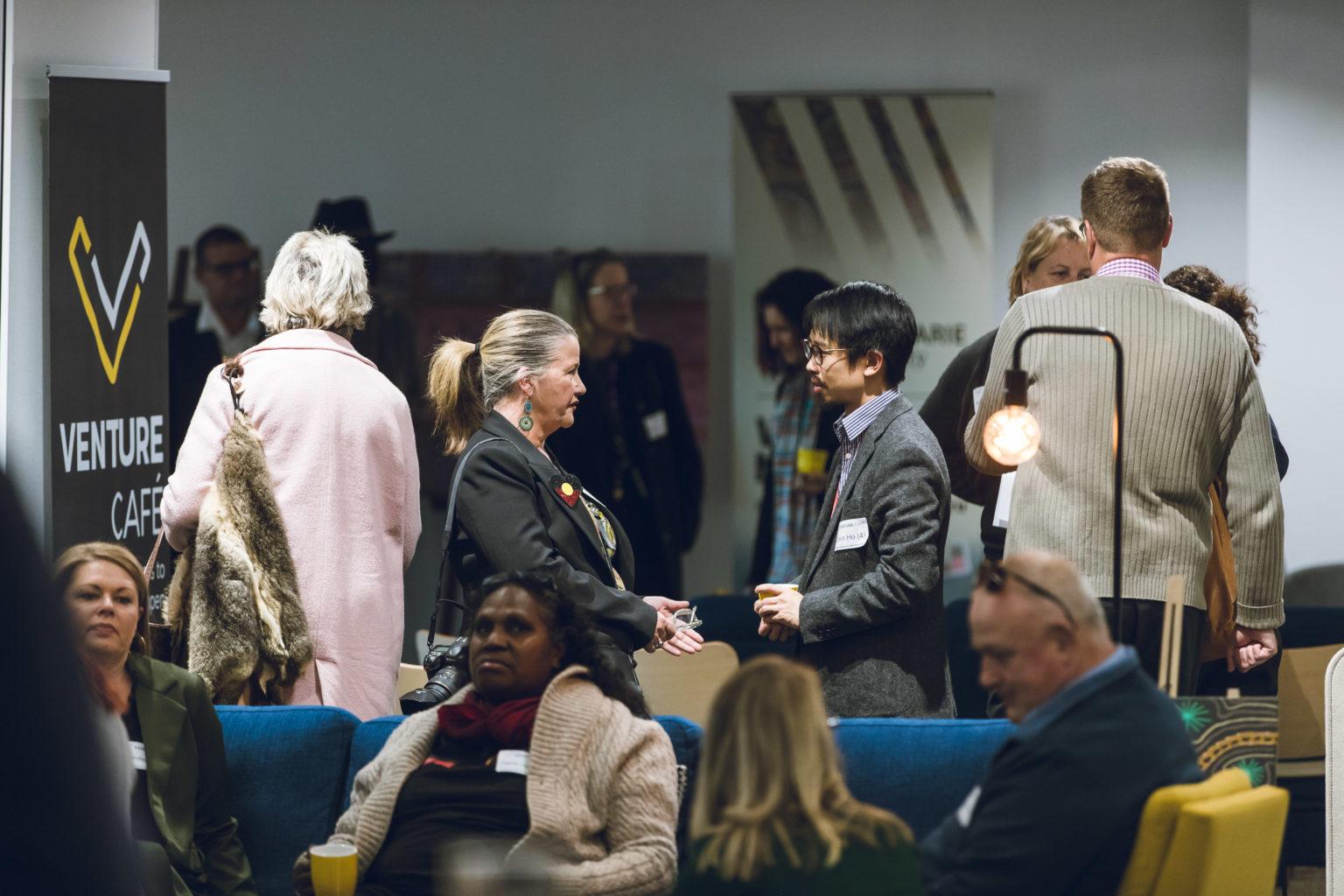 Networking in Venture Café Sydney